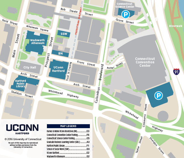 uconn west hartford campus map Local Information First Year Writing