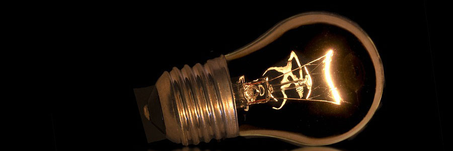 An image of a lightbulb